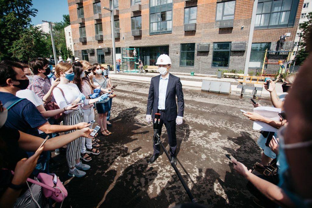 В Москве достроят 60 домов по реновации к концу года