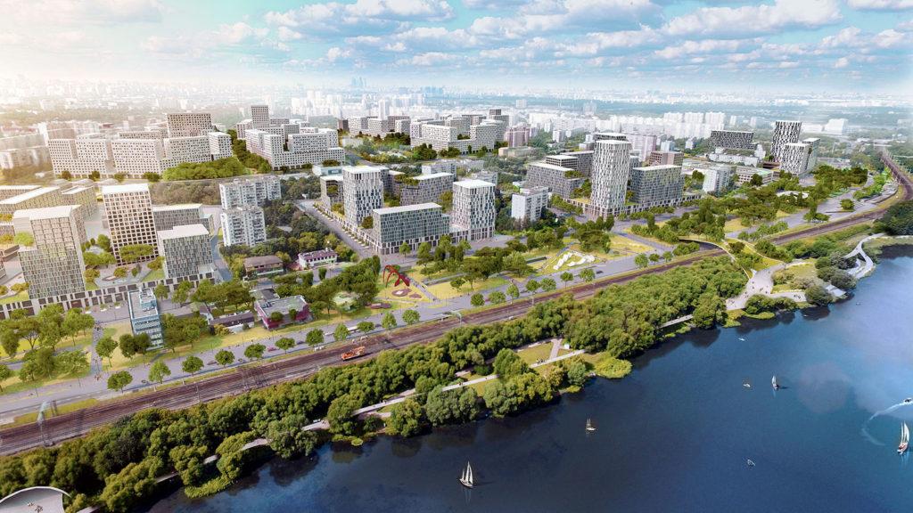 Собянин утвердил проект планировки двух кварталов 2А и 2Б в районе Царицыно