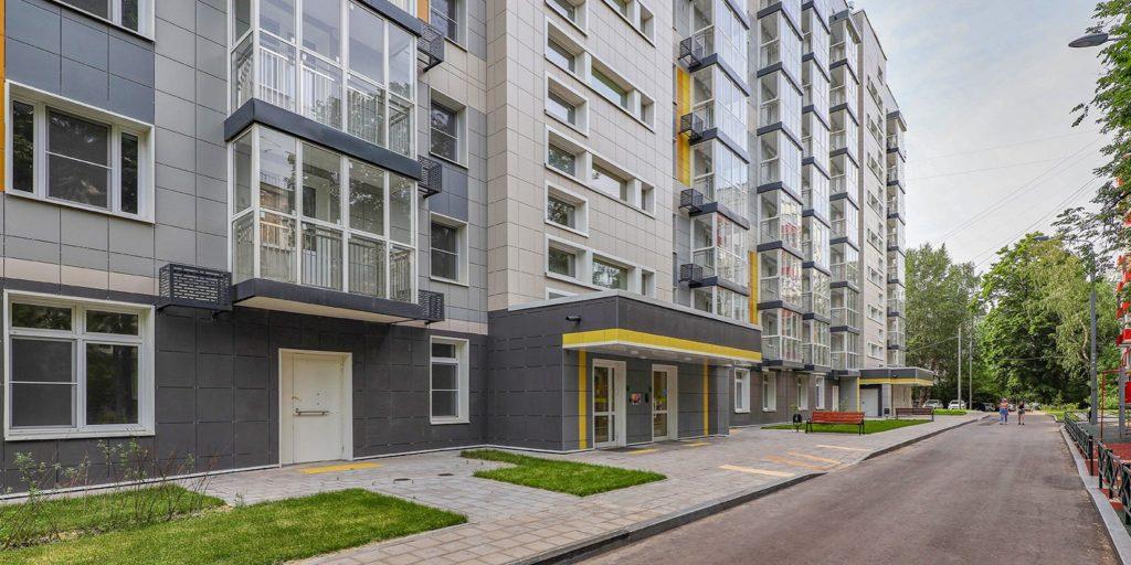 Второй дом по программе реновации в Текстильщиках на ул. Артюхиной 26А передали под заселение