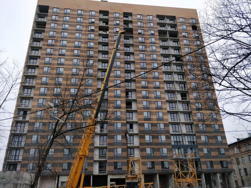 В Перове по адресу: Зеленый проспект, дом 27а завершилось строительство дома по программе реновации