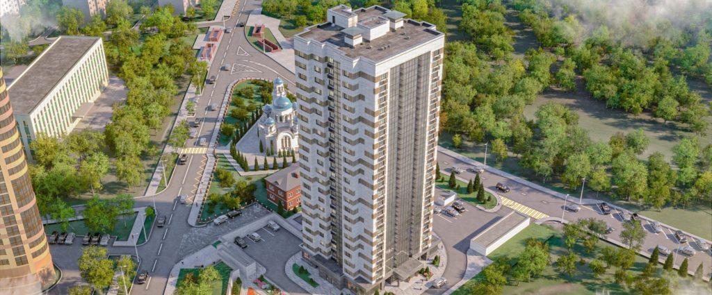 В Фили-Давыдково по ул. Олеко Дундича вл.29 построят дом с подземной стоянкой по программе реновации