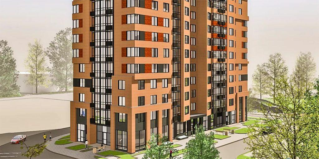 В Ломоносовском районе по ул. Архитектора Власова вл.2 построят дом с подземной стоянкой