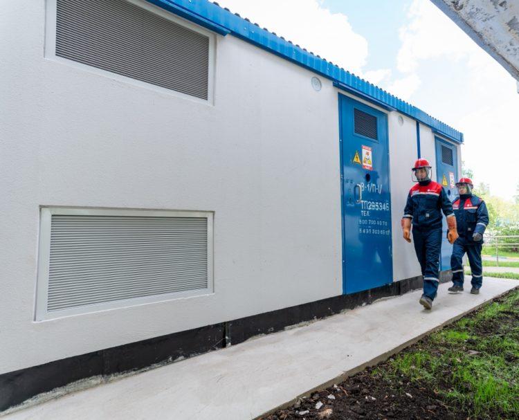 Энергетики построили кабельные линии для дома по программе реновации на улице Шверника