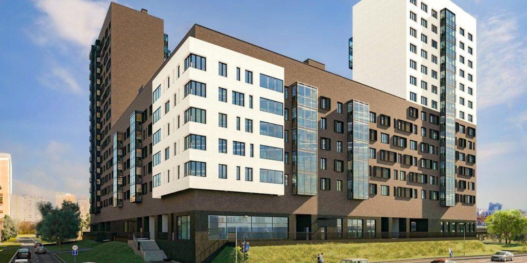В Западном Дегунине по ул. Талдомской вл.1 в следующем году достроят дом по программе реновации