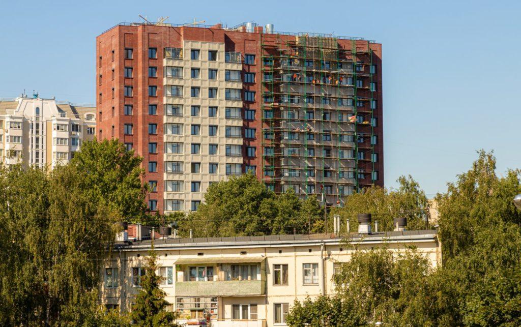 Дом по реновации в Рязанском районе по ул. Паперника, вл. 12 введут в 2021 году