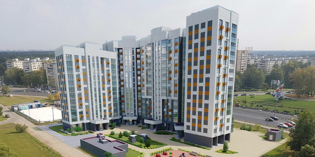 Три дома по реновации строят в Зеленограде