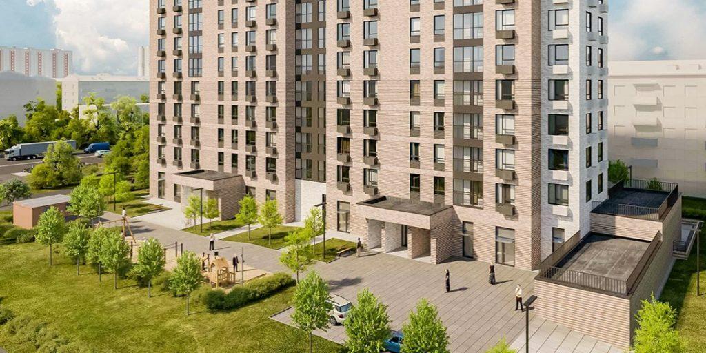 Дом на 105 квартир введут в Кузьминках по Волгоградскому пр-ту вл. 163 до конца года