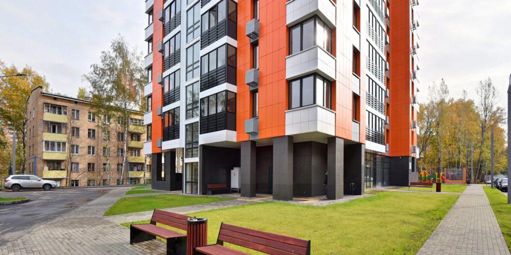 Дом по программе реновации введен в эксплуатацию в Можайском районе по улице Кубинка, владение 18, корпус 2