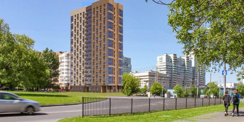 Обручевский район: дом на 127 квартир введут в эксплуатацию в следующем году по адресу: улица Гарибальди, владение 18