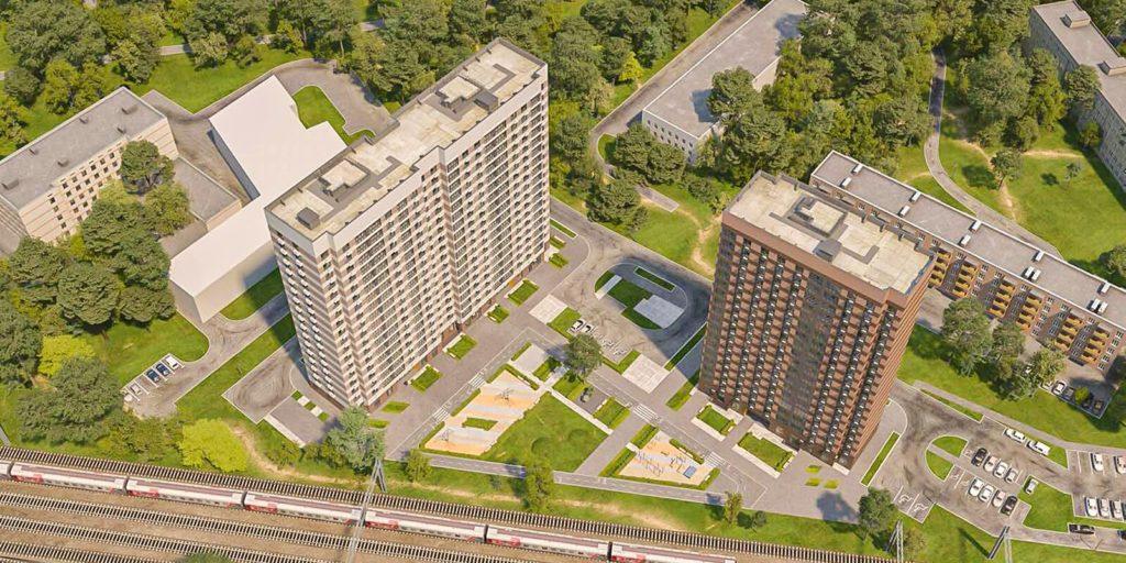 Два дома по программе реновации в Кузьминках по адресу: Жигулевская ул. вл. 3 достроят в следующем году
