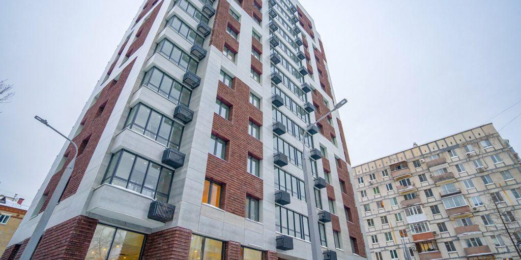 В Тимирязевском районе построили два жилых дома по адресам: улица Астрадамская, вл 9а и Дмитровское шоссе, вл 55
