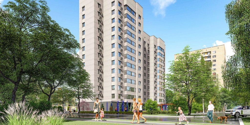 Завершается строительство двух жилых домов по адресу: Флотская ул, вл 68 по программе реновации в Головинском районе
