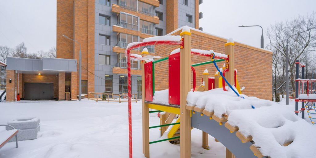 Программа реновации: дом на 75 квартир построили в районе Бирюлево Западное по адресу: Булатниковский проезд, вл 16а