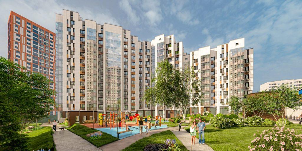 В Можайском районе по адресу: ул Петра Алексеева, вл 12 началось строительство дома по программе реновации