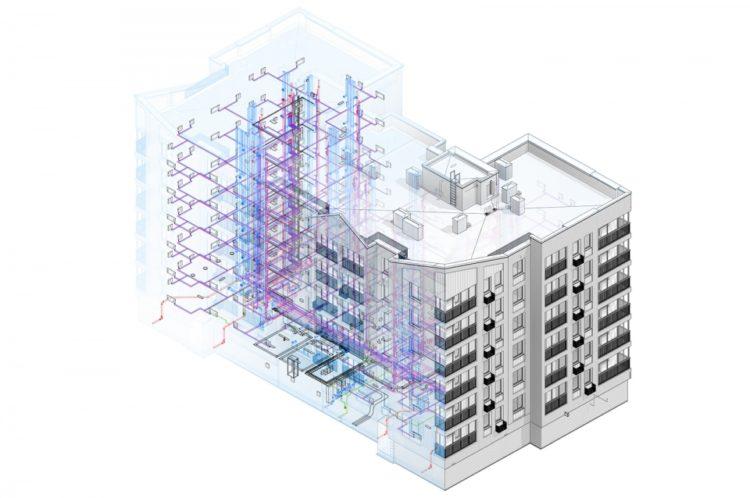 Первый выполненный в BIM-модели дом реновации сдадут в Москве в начале 2023 года