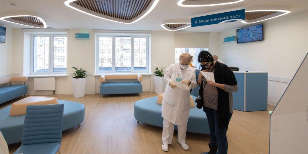 Две поликлиники в районах Котловка и Кузьминки открылись после реконструкции