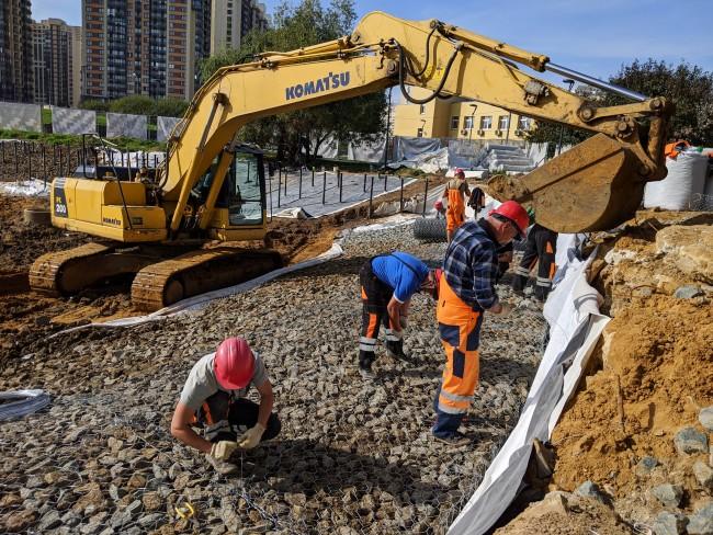 В районе Ново-Переделкино в этом году запланировано проведение масштабных работ по благоустройству