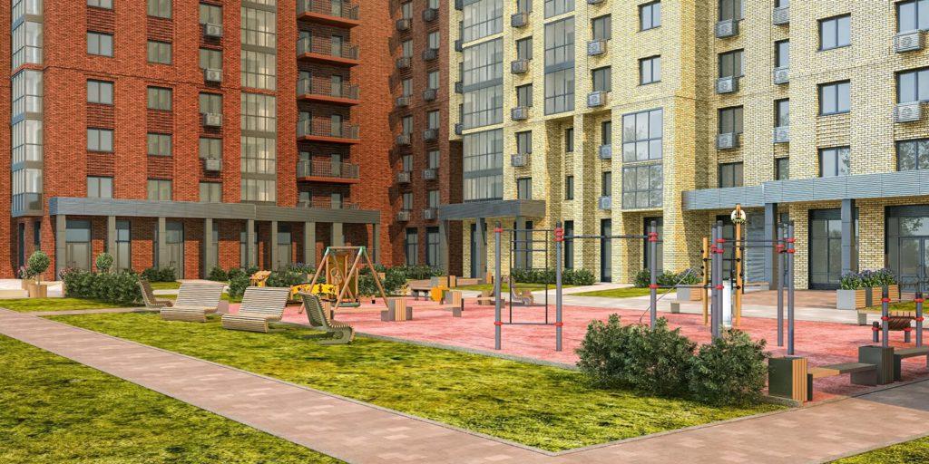 Началось строительство жилого дома по программе реновации в Марфине Гостиничный пр вл 8а