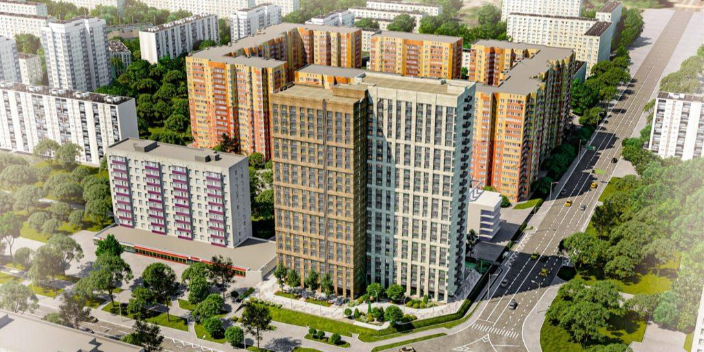 Дом по программе реновации в Гольянове по адресу: площадь Белы Куна, владение 1 достроят в следующем году