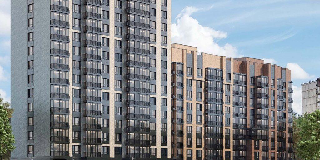 В районе Филевский Парк по адресу: Большая Филевская улица, владение 6 построят дом в пастельных тонах по программе реновации