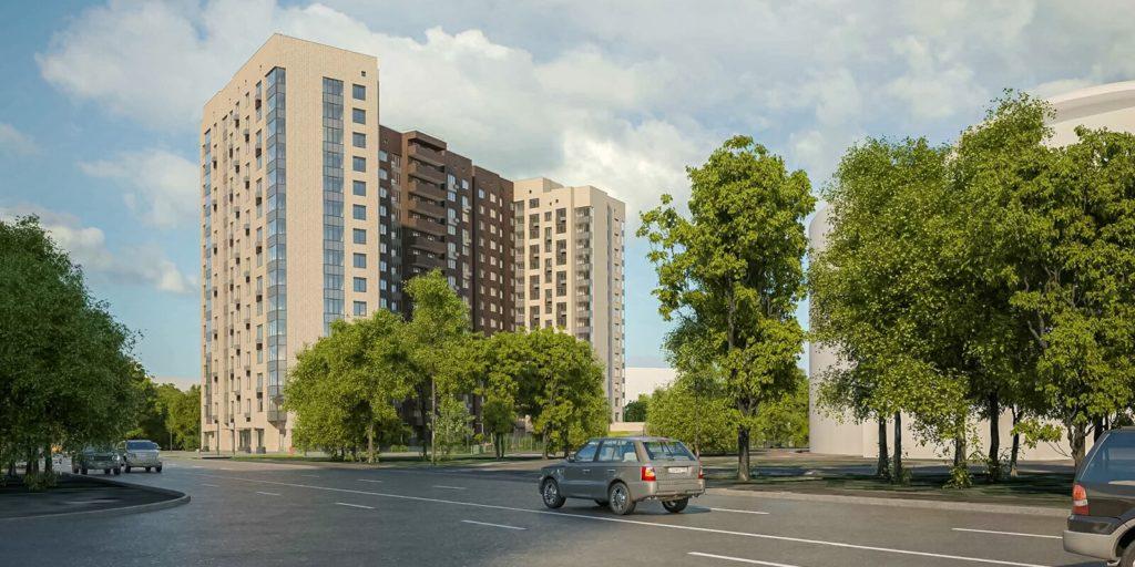 В Бескудниковском районе по адресу: Коровинское шоссе, вл 10 построят дом по программе реновации на 306 квартир