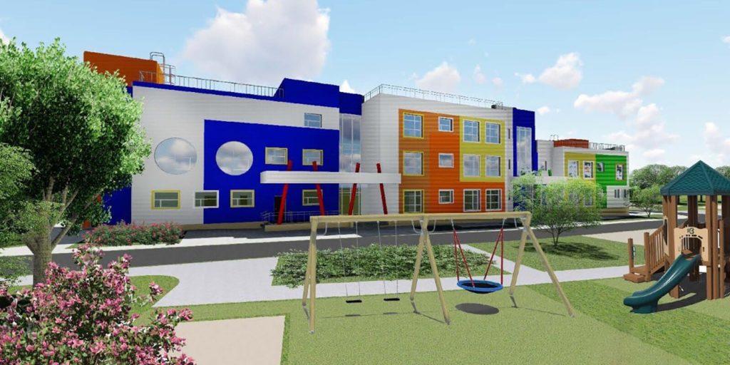 Началось строительство детского сада на 235 мест в Южном Бутово