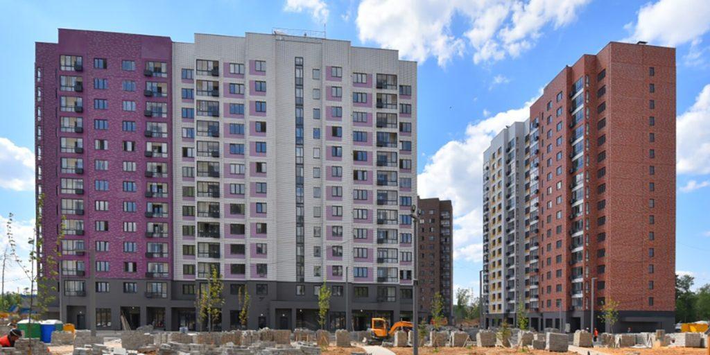 Программа реновации пять жилых корпусов ввели в эксплуатацию в поселении Мосрентген