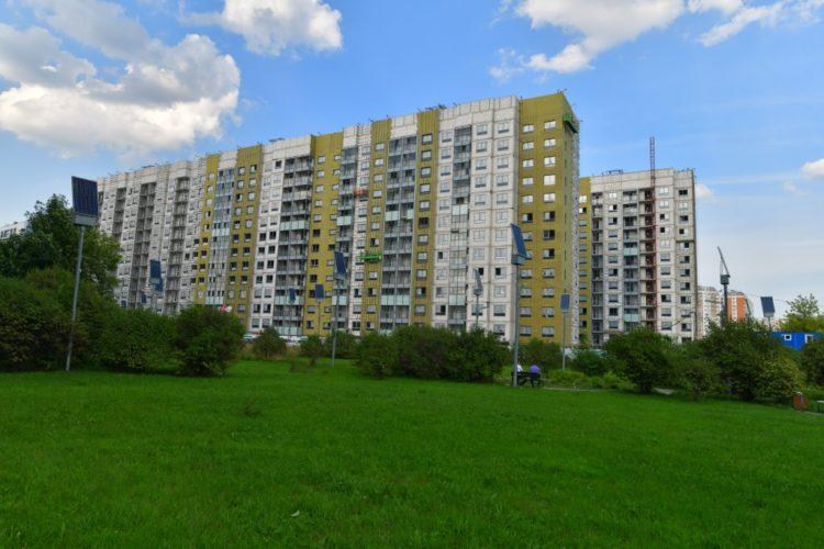 В районе Восточный достраивают три дома по программе реновации
