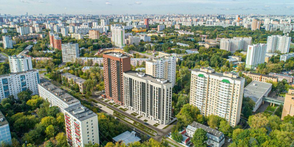 На улице Тайнинской началось строительство дома по программе реновации