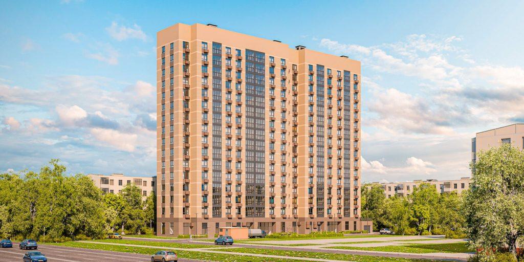 На Волгоградском проспекте строят дом по программе реновации